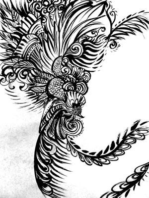 鳳凰_03.jpg 鳳凰(ほうおう)は、中国神話の伝説の鳥、霊鳥である。鳳皇とも。日本や朝鮮..